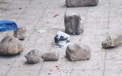 خلفت مصابا… انفجار عبوة ناسفة في منطقة بير باشا الخاضعة لسيطرة مليشيات الاخوان في تعز