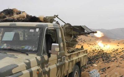 مصدر عسكري الجيش الوطني يكبّد المليشيا  خسائر كبيرة غرب  مأرب