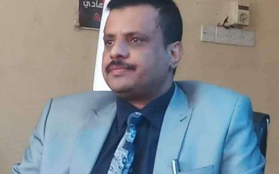 وكيل محافظة تعز عارف جامل يوجه برقية الى مدير عام شرطة تعز